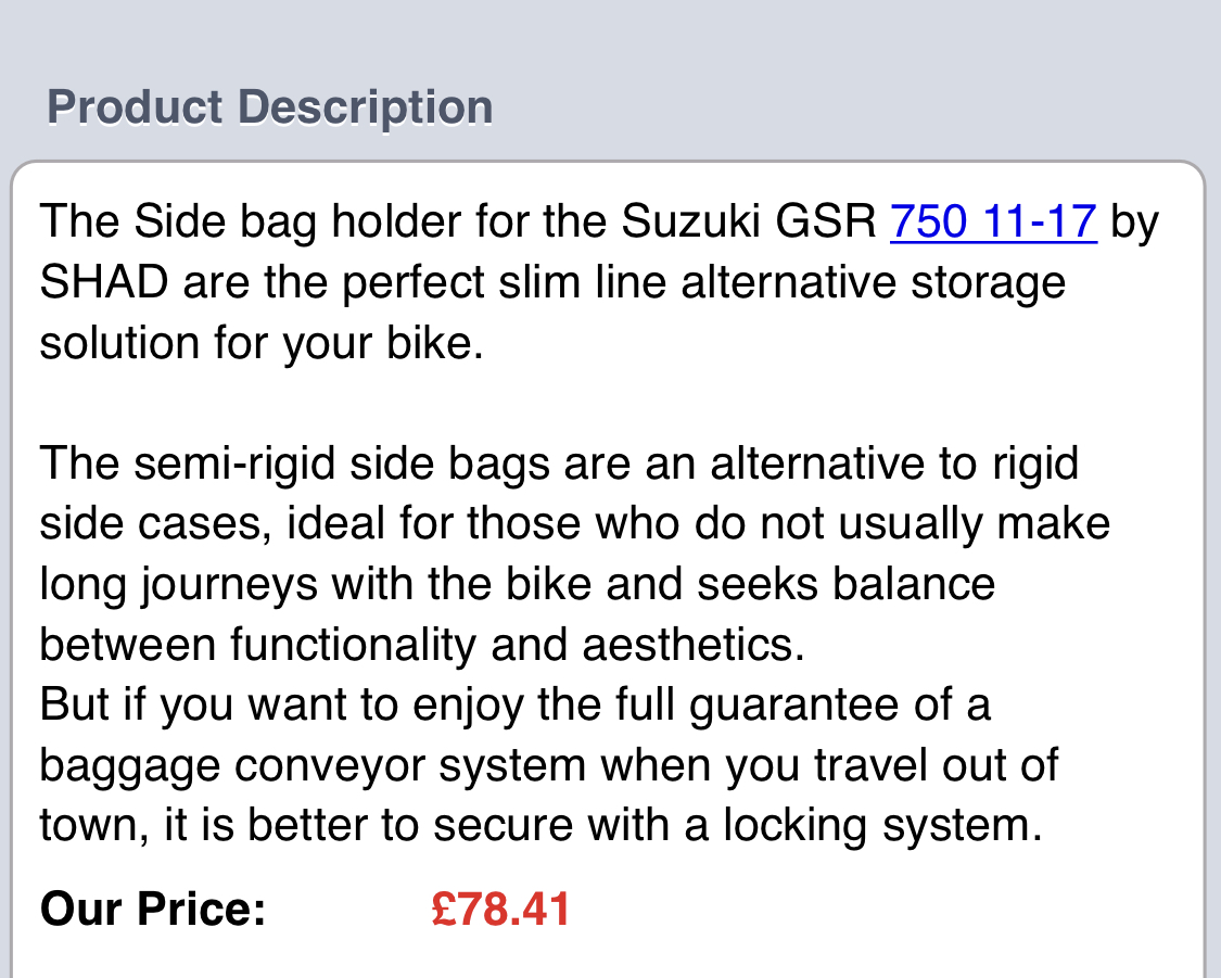 GSR 750 Shad luggage fixing kit - unused for sale-327a577d-9bde-4a79-a50b-6f29ad700225.jpeg