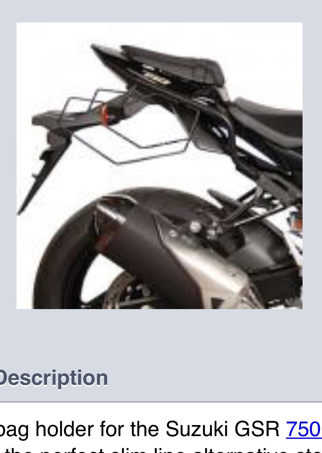 GSR 750 Shad luggage fixing kit - unused for sale-54758db4-df04-42fb-87b1-c486dafd805f.jpeg