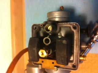 SR185 TK carb adjustment