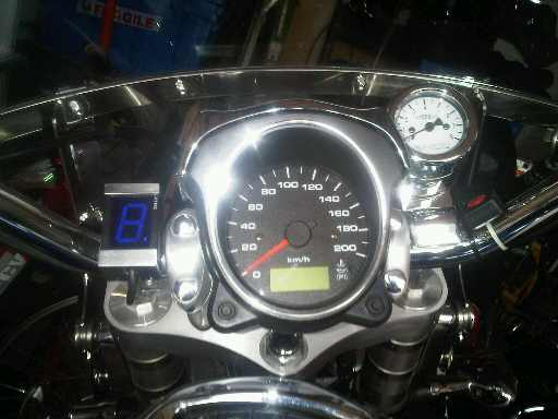 Tachometer Install