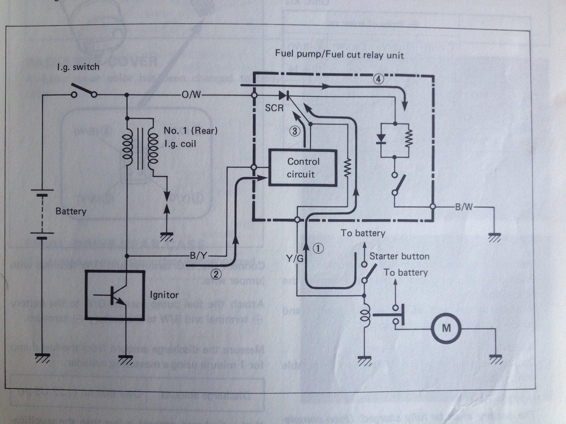 1987 Intruder fuel pump | Motorcycle Forum | Vs 1400 Wiring Diagram |  | Motorcycle Forum