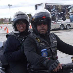 Me and Ex wife out on a April 2013, Friday Afternoon as she took her first ride on a 3 wheeler