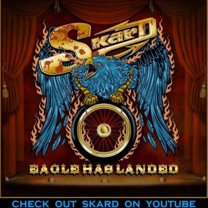 SKARD rock band ~ Eagle Has Landed album cover