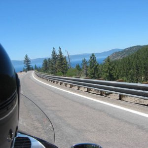Lake Tahoe from Hwy 50