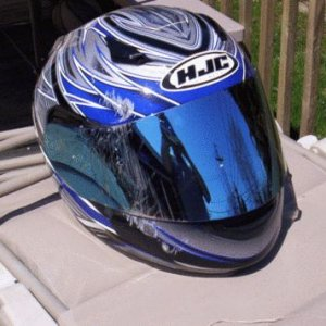 Helmet-after crash